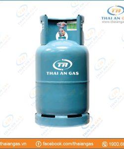 Bình gas 12kg van ngang (xanh)
