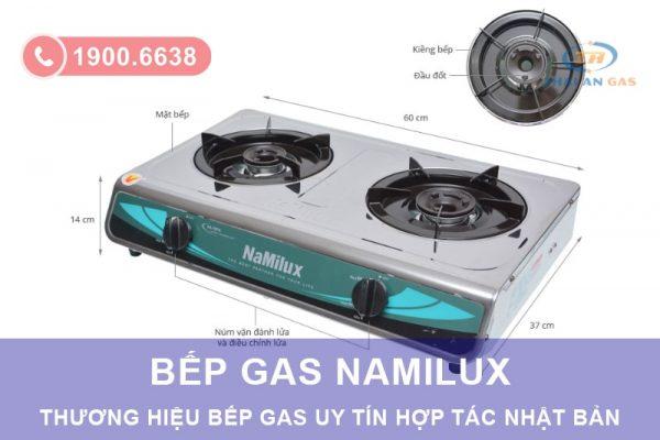 Namilux là thương hiệu toàn cầu chuyên sản xuất các thiết bị dùng gas.