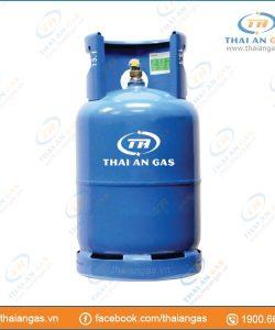 Bình gas 12kg van chụp φ21 (xanh)