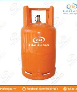 Bình gas 12kg van chụp φ20 (cam)
