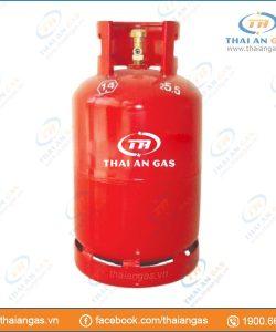 Bình gas 12kg van chụp φ16 (đỏ pháp)