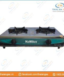 Bếp gas dương Namilux NA-606ASM mặt inox