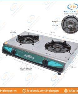 Bếp gas dương Namilux NA-606ASM giá chỉ 329.000đ