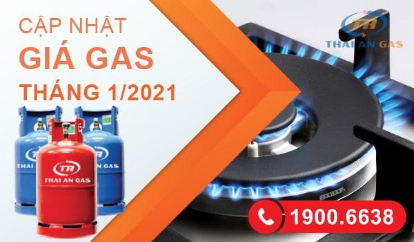 Giá gas tháng 1 năm 2021 tại Hà Nội mới nhất hôm nay