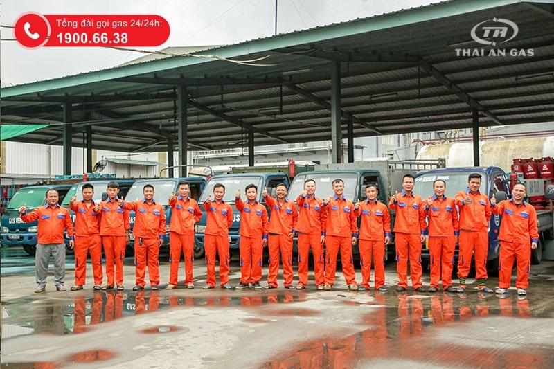 Nhân viên tại công ty Thái An Gas