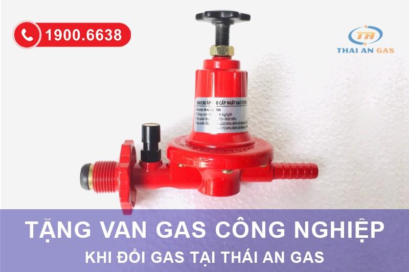 Tặng Van điều áp gas công nghiệp cầu chì Namilux