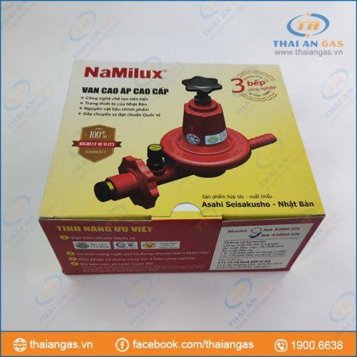Van điều áp gas công nghiệp cầu chì Namilux cao cấp